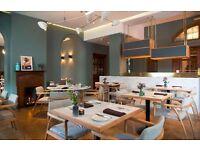 Head Waiter/Chef de Rang at 3 AA Rosette Typing Room Restaurant