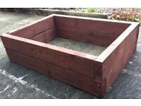 MINI-SLEEPER PLANTING RAISED BED. EITHER 125mm or 250mm HIGH, from £ 32