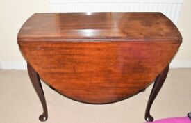 Seat wood Folding Oval Dining Table