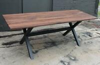 Local Custom Furniture Maker-End/Coffee/Dining Tables-Walnut/Oak