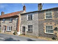 Norfolk flint cottage, (UNDER OFFER) North Creake (near Burnham Market) 2 Beds + big garden