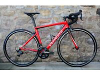 2018 SPECIALIZED TARMAC EXPERT SL6 CARBON ROAD BIKE. AS-NEW CONDITION. ULTEGRA R8000. LATEST TARMAC