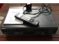 Sony video player/recorder