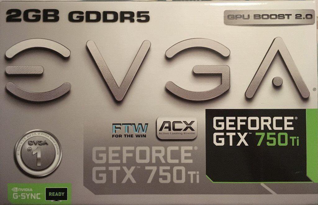 EVGA GeForce GTX 750Ti 2GB GDDR5 Graphics Card | in Devizes, Wiltshire |  Gumtree