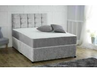 🔵💖🔴LIMITED TIME SALE HERE🔵💖🔴DIVAN CRUSH SINGLE-DOUBLE+SMALL DOUBLE & KING SIZE BED BASE