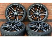 """Audi A4/A5/A6 20"""" RS6 Style Alloy Wheels 5x112 B7/B8/B9"""