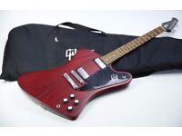 Gibson USA Firebird Studio T Mahogany & Gibson Deluxe Gig Bag