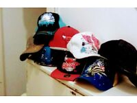 CAPS PEAKED MEN'S UNISEX JOBLOT BUNDLE NEW HATS LOT
