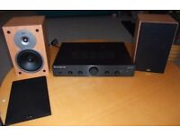 Cambridge Audio Topaz AM5 amplifier and Gale Gold Monitor Speakers