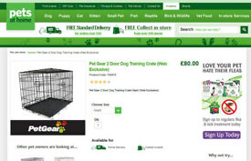 Dog cage giant size