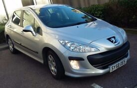 PEUGEOT 308 1.6hdi ,63000mls, FSH ,Excellent condition