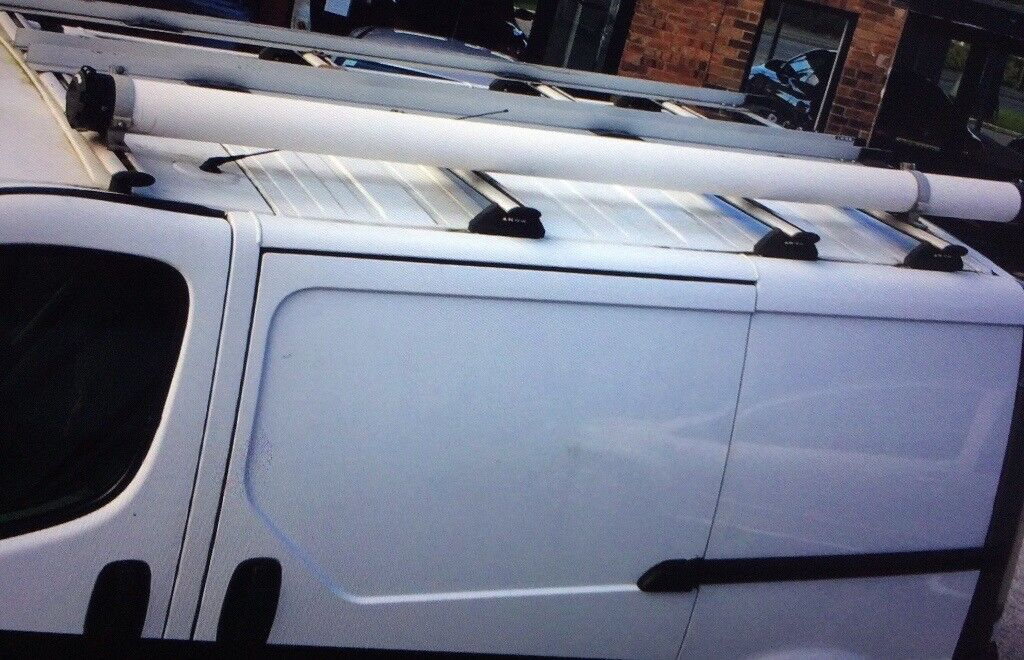 Vauxhall Vivaro   KRS Double Ladder Roof Rack With Piping Tube