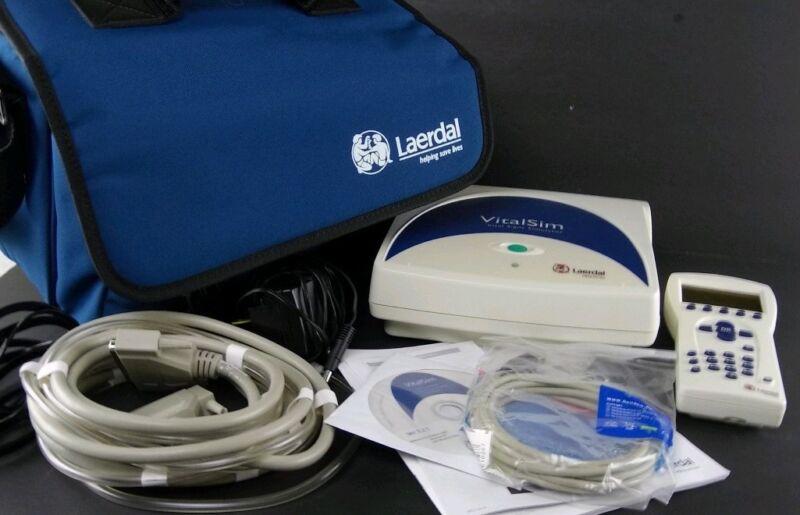 Laerdal VitalSim Vital Signs Simulator Training Manikin FCC ID QHQ-FST 1908