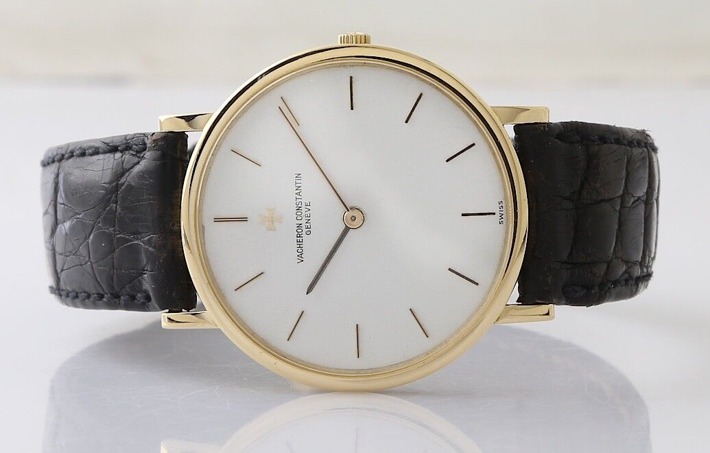 Vacheron Constantin Vintage 18k Yellow Gold Wristwatch - watch picture 1