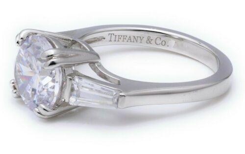 2ct Round Moissanite Diamond Engagement Wedding Accent 14K White Gold Size 5