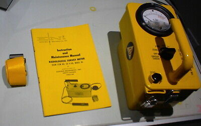 Cd V-717 Radiation Detection Survey Meter Geiger Counter Cdv-717 Model 1