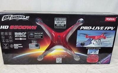 Sky Thunder Drone HD Camera 8 MP 8500wh Pro-live FPV Syma Radio Controlled
