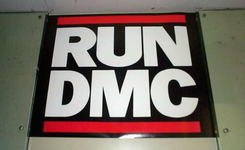 RUN DMC Vintage LOGO  Poster