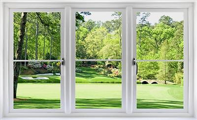 - Window Scape Wall Decal 12th Hole Augusta National Golf Sticker Graphic PGA