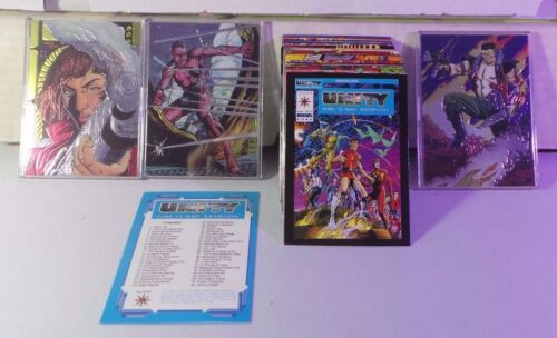 Unity: Time is Not Absolute 1992 Comic Images Complete 90 Card Set Valiant + 3HC