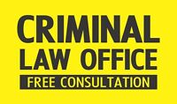 Have you been charged with a crime? Get legal help NOW!