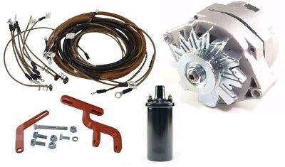 12v Alternator Conversion Kit Allis Chalmers B C Ca Tractor