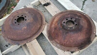 Ford 8n Tractor Rear Dish Wheel Center Hub Naa 28 Wheel Center Need Paint 600