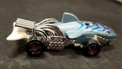 Hot Wheels Blue Shark Cruiser 2011 Die Cast Collectible Toy Loose