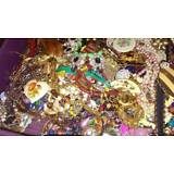Estate Lot Jewelry ALL Wearable Resell Vintage Now 25-30 Pcs Earring Brooches ++