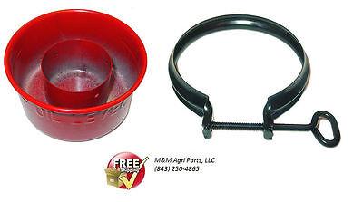 Oil Bath Air Cleaner Cup Clamp Case 430 470 530 540 541 570 580 630 640 641