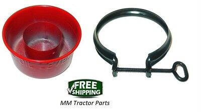 Air Cleaner Oil Cup Clamp Ih Farmall A Av B Bn Super A Oliver 60 66 Cockshutt