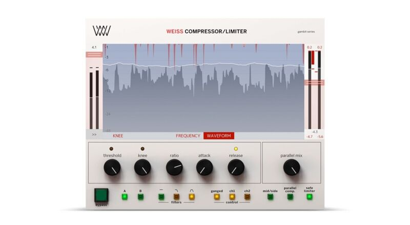 Softube Weiss Compressor Limiter plugin license - with DS1-MK3 Algorithm