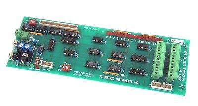 Sciemetric Instruments Model 241 16 Channel Digital Io Board Rev 2a