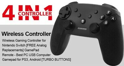 Wireless Game Controller for Nintendo Switch, Windows, PS3 and Android