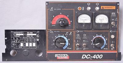 Lincoln Electric Dc-400 Dc400 Dc 400 Front Control Panel