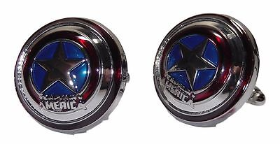 Marvel Comics CAPT.AMERICA Shield Metal/ Enamel  1