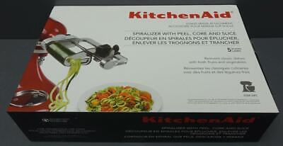 NEW KitchenAid Stand Mixer Attachment Spiralizer with Peel, Core & Slice KSM1APC