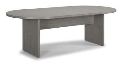 Amber 8 Racetrack Office Conference Table - Valley Grey