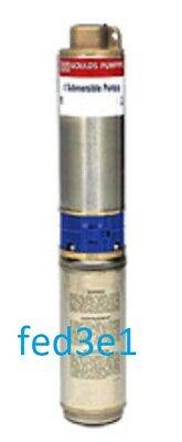 10ls10422c Goulds 160-230v 4 Submersible Pump Motor 2 Wire 12 Stg Nib