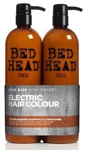 TIGI Bed Head Colour Goddess Shampoo & Conditioner 750ml Tween