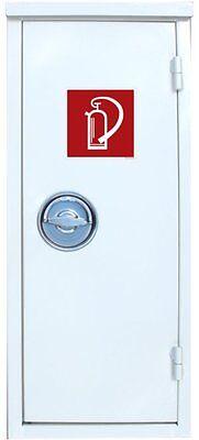 Stahlblechschutzschrank Extintor Con Extintor Símbolo Armario