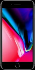 iPhone 8 Plus silver grey 64 gb