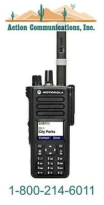 New Motorola Xpr 7550 Vhf 136-174 Mhz 5 Watt 1000 Channel Two Way Radio