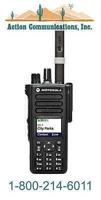 MOTOROLA XPR 7550 - VHF 136-174 MHZ, 5 WATT, 1000 CH, DISPLAY TWO WAY RADIO