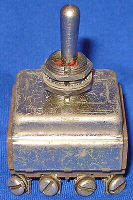 Power Toggle Switch For Hickok Navy Model 118a 118b Tube Tester