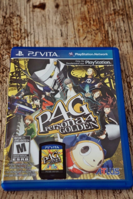 Persona 4 Golden - PlayStation Vita @ as new @One of the biggest and best  RPG game   | in Aberdeen | Gumtree