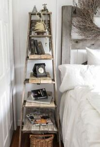 Vintage Wooden Ladder - perfect for home decor!