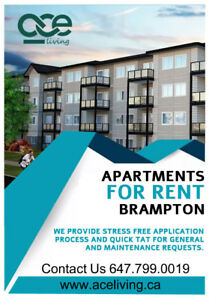 Apartments for rent Brampton
