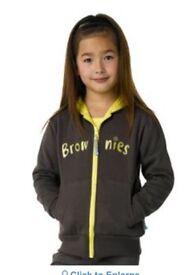 Brownie hooded zip jacket