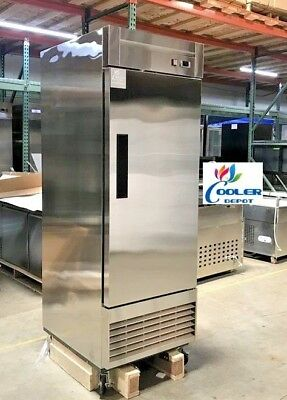 New 28 X 33 X 81 One Door Upright Freezercommercial Reach In Model 28f Nsf